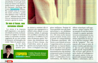 Riccardo Germani psicologo per Vero